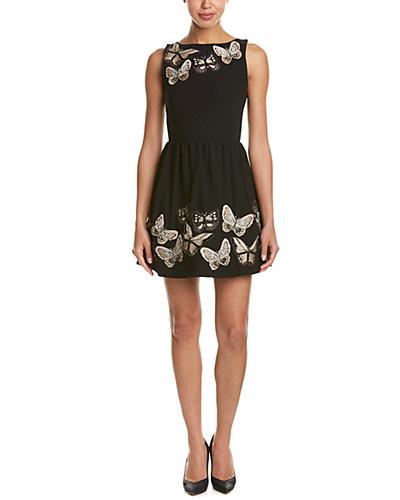 alice + olivia Lillyanne A-Line Dress