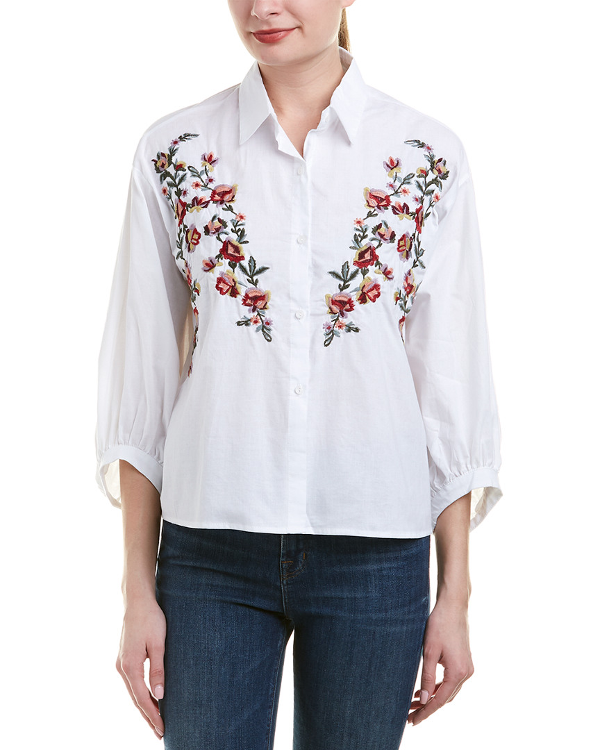 Haute Rogue EMBROIDERED SHIRT