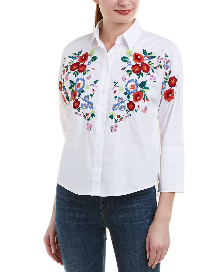 Haute Rogue EMBROIDERED TOP