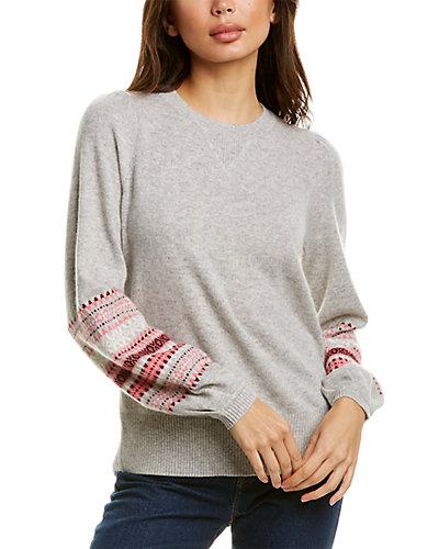 Rue La La — Design History Jacquard Cashmere Sweater