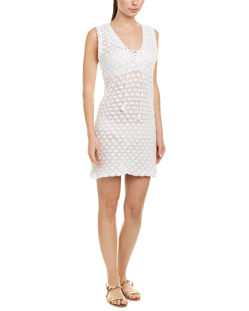 Letarte CROCHET SHIFT DRESS