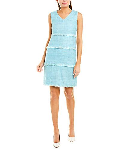 Rue La La — Sara Campbell Silk Shift Dress
