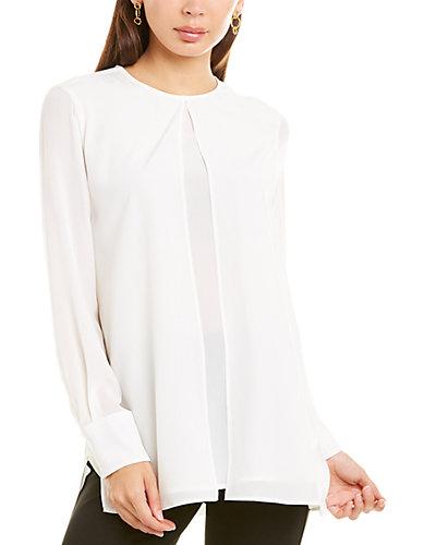 Rue La La — Sportmax Ermete Silk Shirt