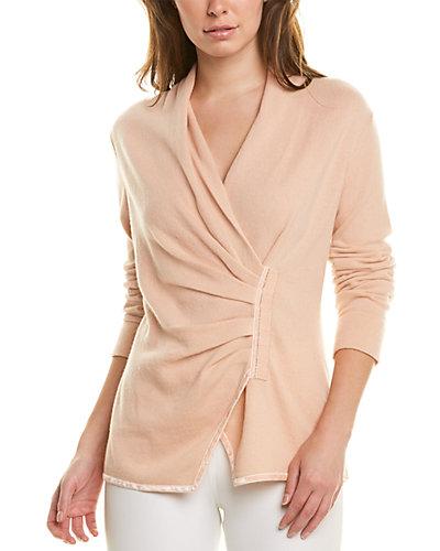 Rue La La — Lafayette 148 New York Asymmetrical Cashmere Sweater