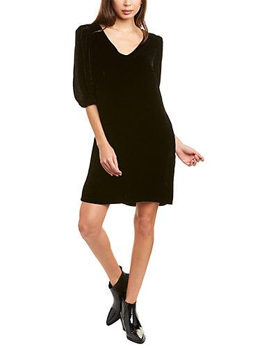 Rue La La — Velvet by Graham & Spencer Carissa Silk-Blend Mini Dress
