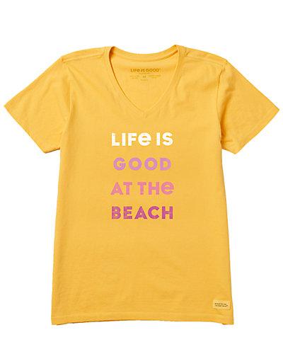 Rue La La — Life is Good Crusher V-Neck T-Shirt