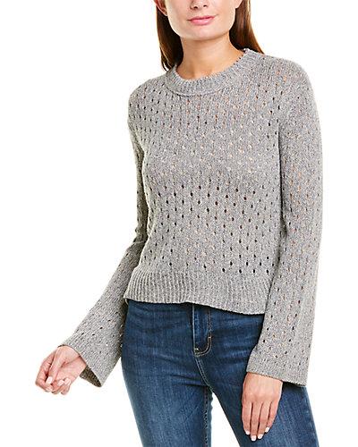 Rue La La — Inhabit Pointelle Linen-Blend Sweater