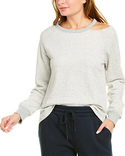 Rue La La — Peyton Valley Cutout Shoulder Sweater