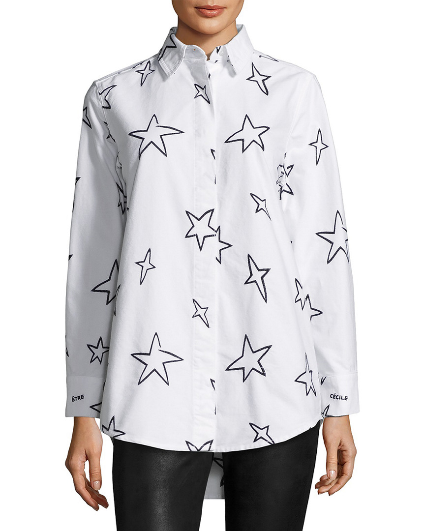 Etre Cecile STARS OVERSIZE SHIRT