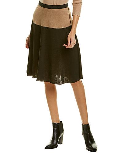Rue La La — Three Dots Reversible A-Line Skirt