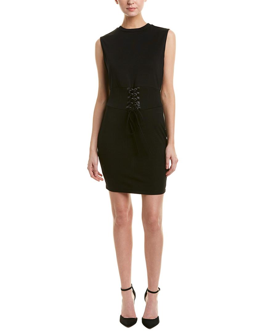 439974ac33 Bardot Mila Corset Body-Con Dress In Black