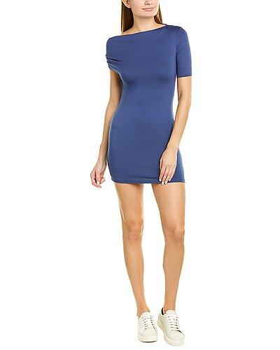 Rue La La — Enza Costa Exposed Shoulder Mini Dress