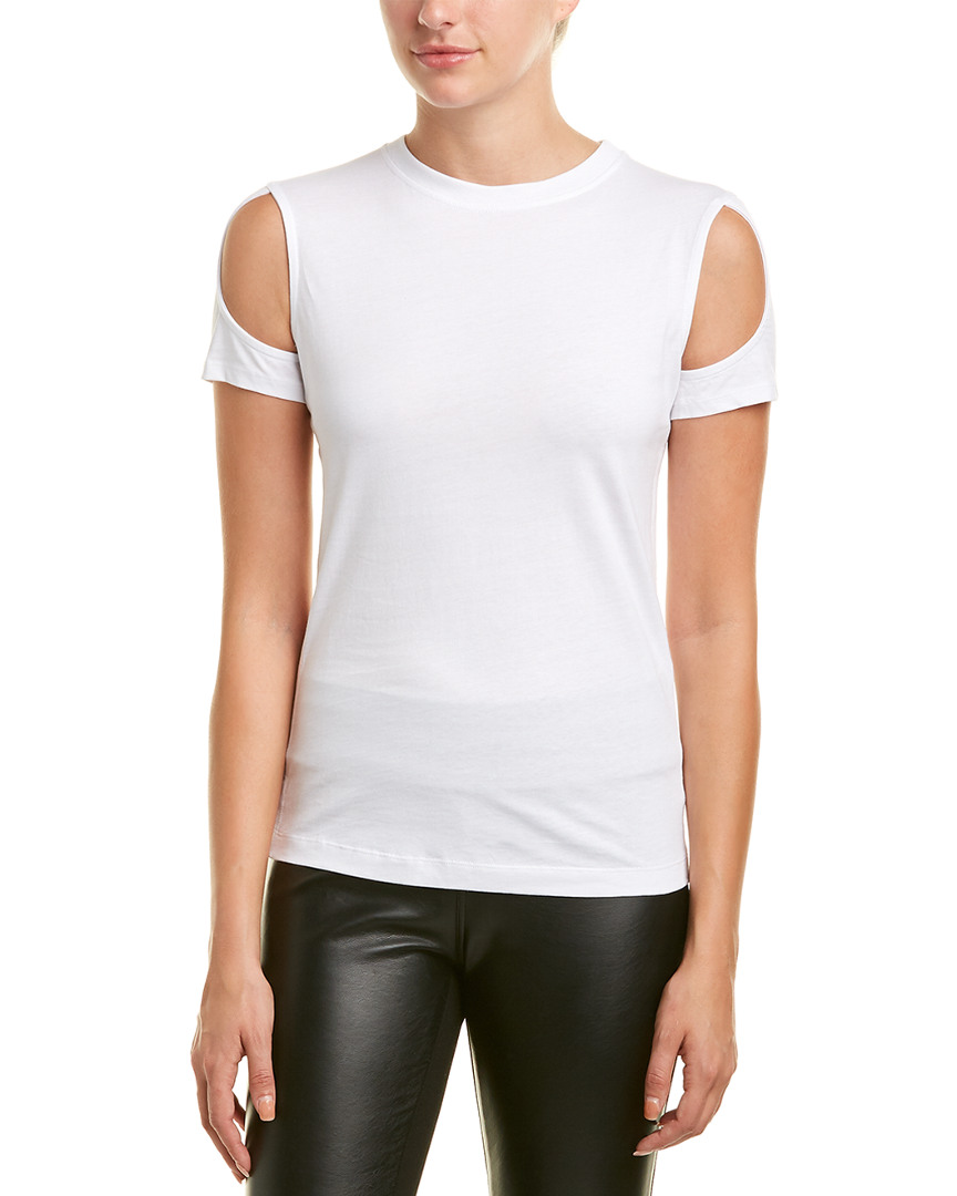 Helmut Lang Cold-Shoulder Top 14117518160000