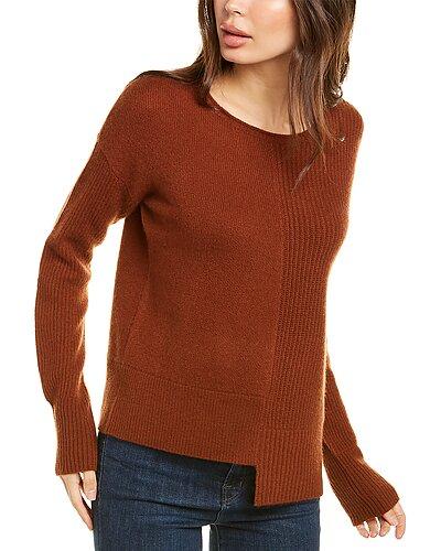 Rue La La — InCashmere Hem Texture Cashmere Sweater