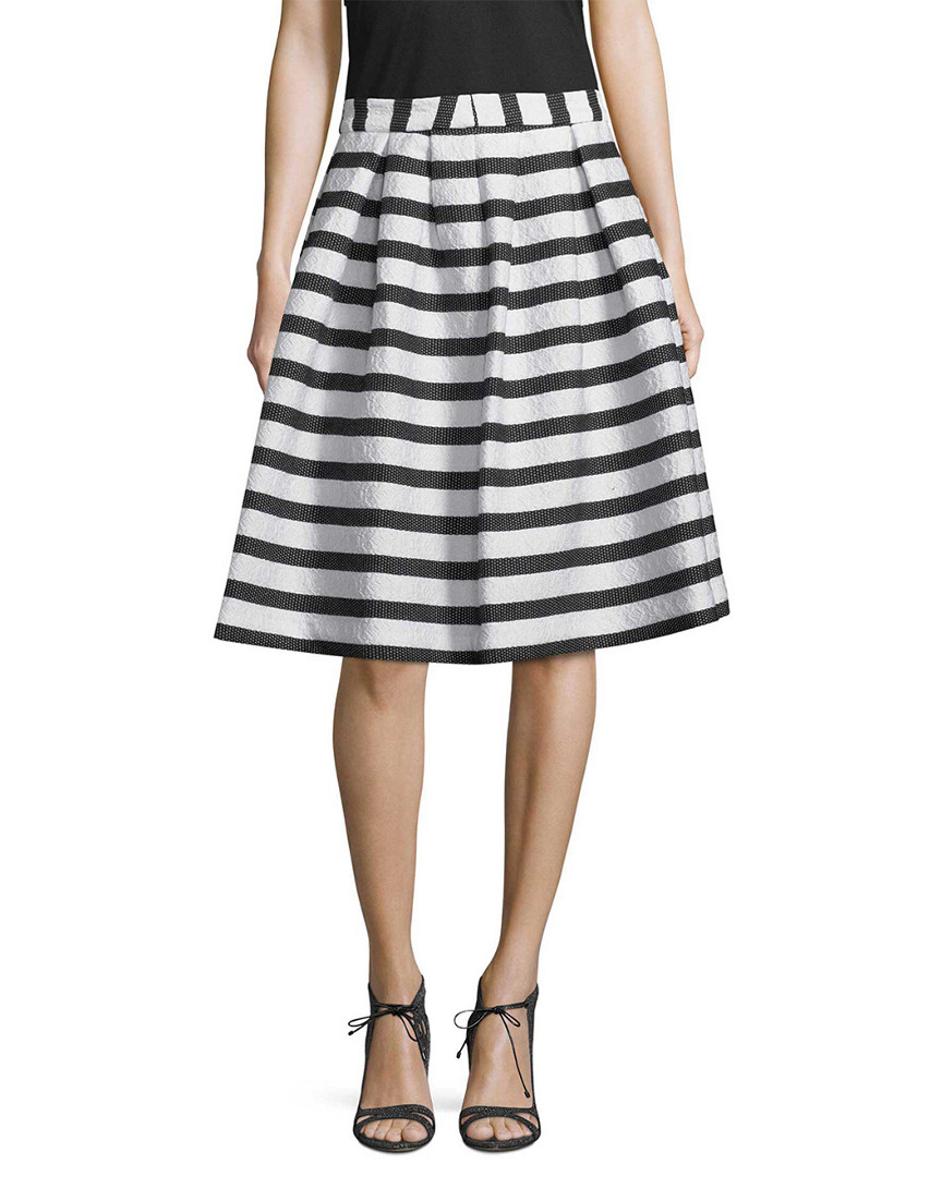 Armani Exchange STRIPE FLARE SKIRT