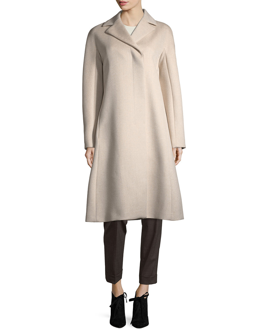 Narciso Rodriguez Long Wool & Cashmere Coat 14117947600000