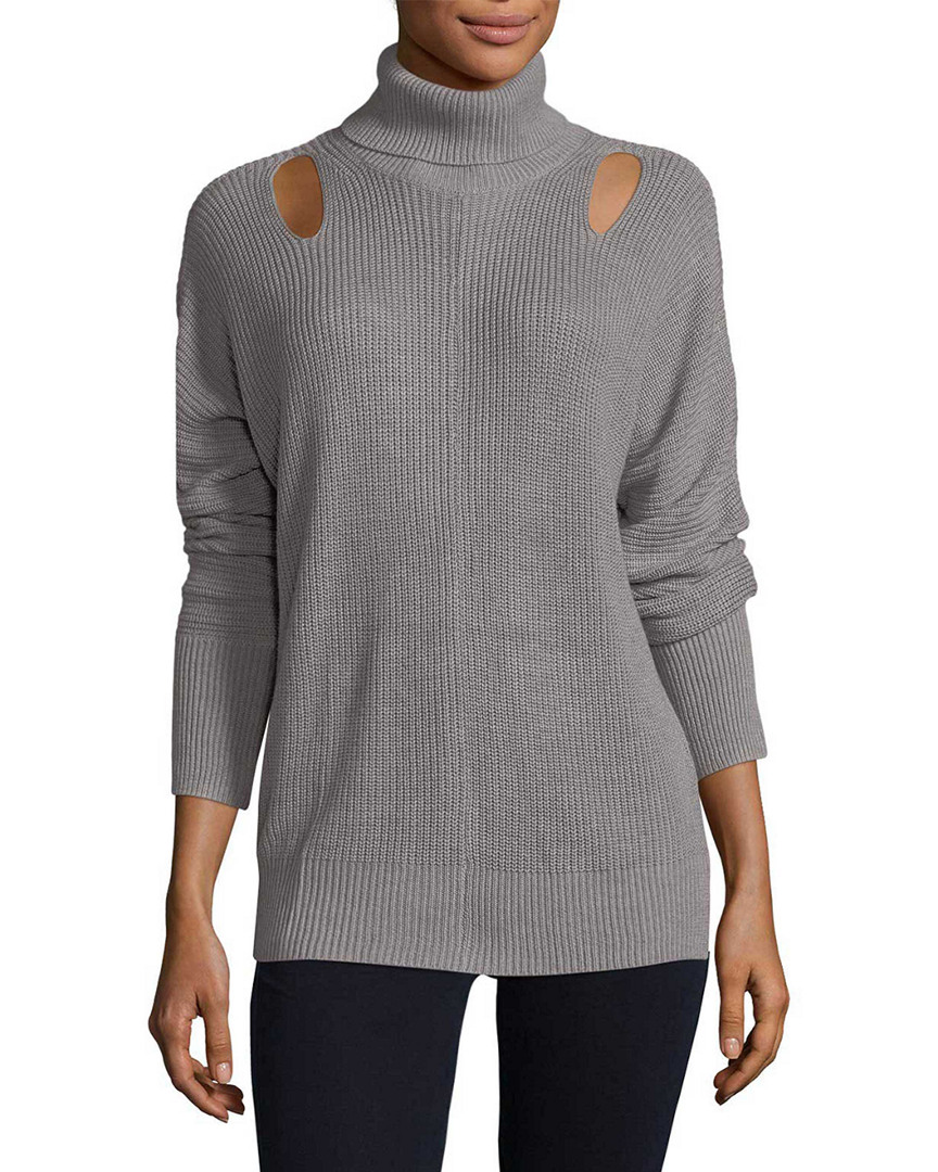 Ella Moss RIBBED TURTLENECK SWEATER