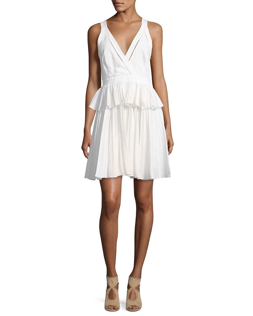 Cosette  BIANCA PEPLUM DRESS