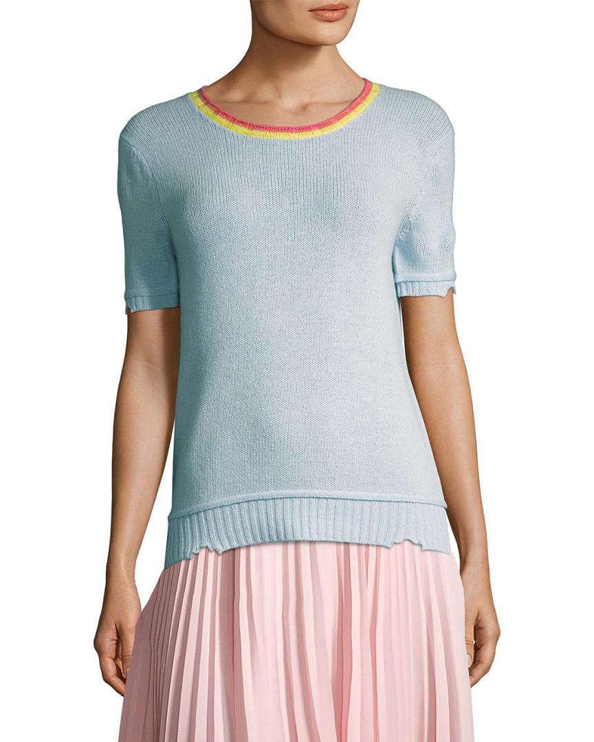 Prada Wool-Blend Knit Top 14118057560001
