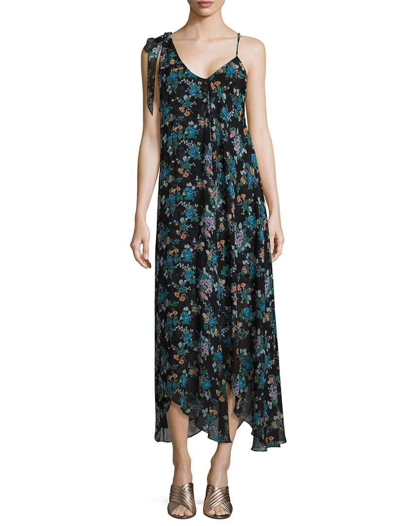 Jill Stuart EVA FLUTTER GEORGETTE DRESS
