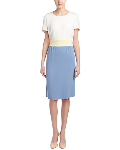 ESCADA Wool-Blend Shift Dress