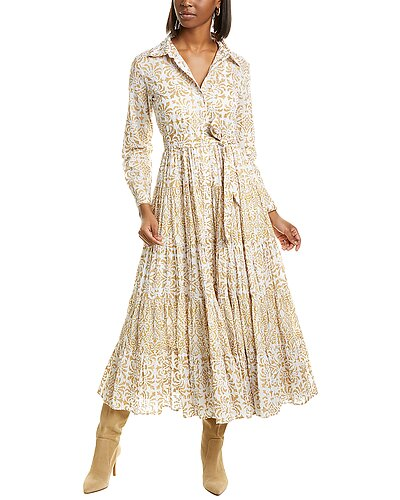 Rue La La — Mes Demoiselles Marathi Midi Dress