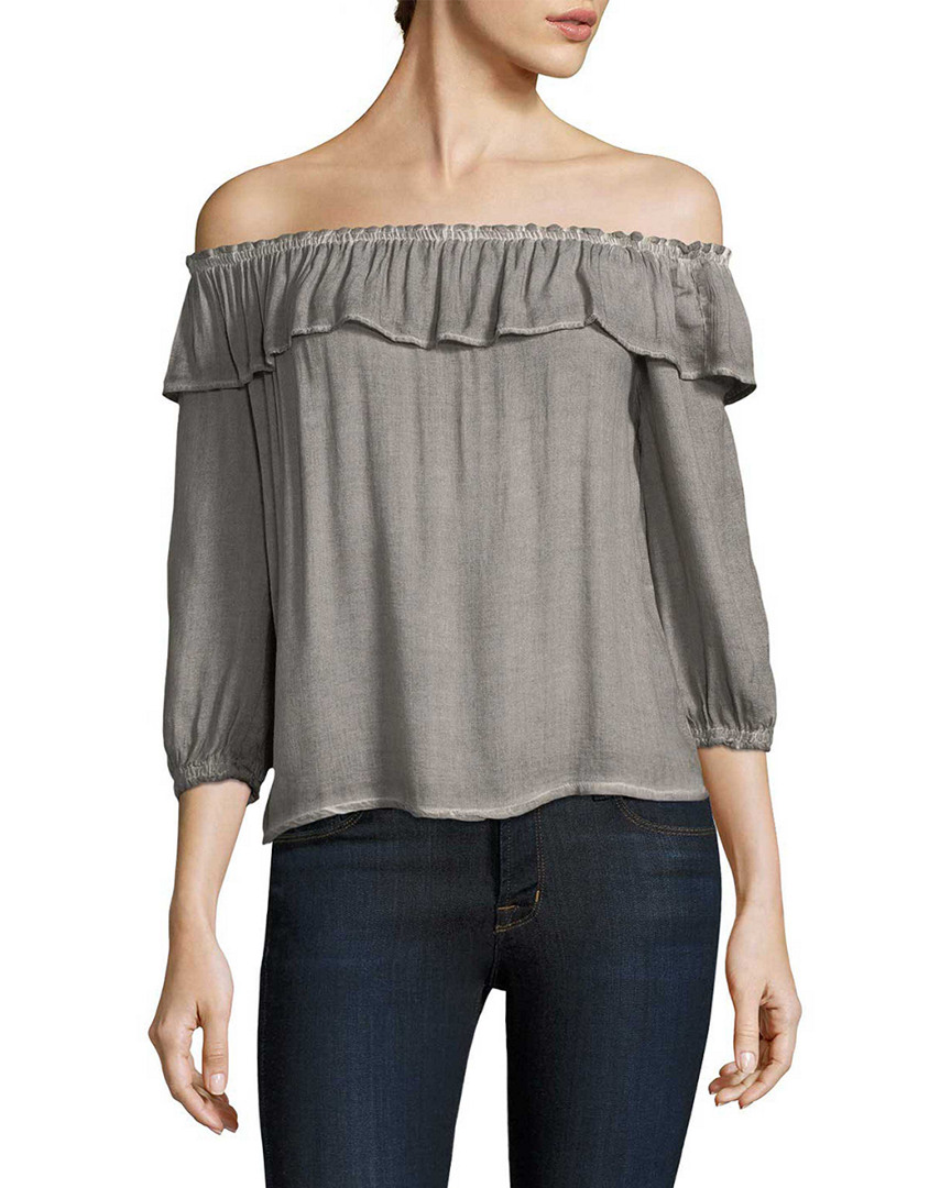 Yfb Clothing CRANE RUFFLE TOP