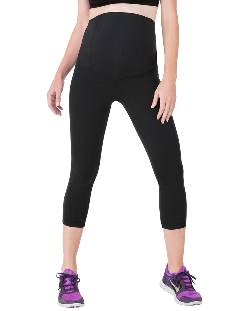 Ingrid & Isabel ACTIVE CAPRI PANT FEATURING THE CROSSOVER PANEL