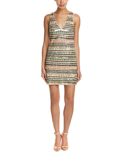 alice + olivia Venetia Shift Dress