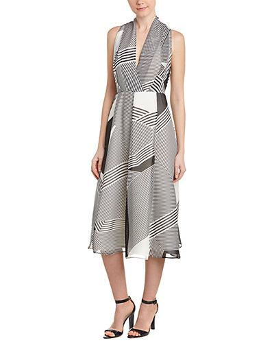 L.K.Bennett Silk A-Line Dress