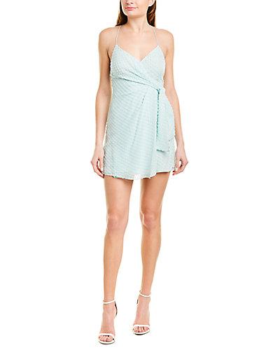 Rue La La — alice + olivia Katie Silk-Blend Mini Dress