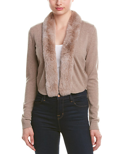 Magaschoni Cashmere Open Cardigan