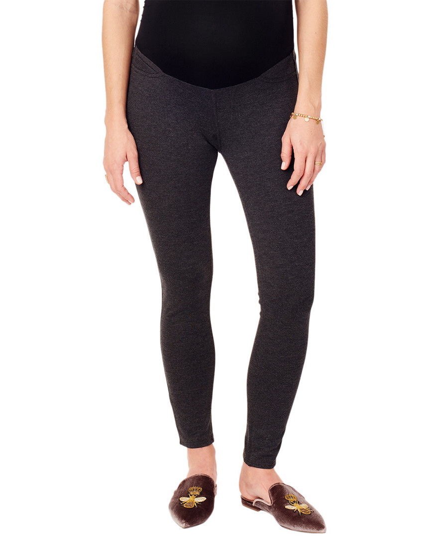 Ingrid & Isabel SKINNY PONTE PANTS WITH CROSSOVER BELLY PANEL