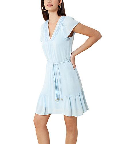 Rue La La — Hale Bob Embroidered Dress
