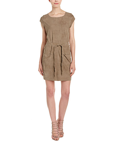 Joie Maroone Suede Shift Dress