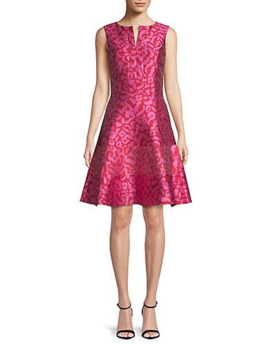 Rue La La — Oscar de la Renta Silk-Lined A-Line Dress