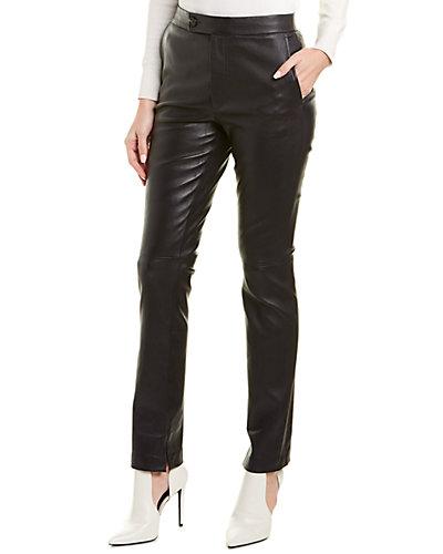 Helmut Lang Leather Suit Pant by Helmut Lang