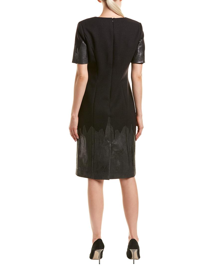 Carolina Herrera Silk & Wool-Blend Wool-Blend Wool-Blend Sheath Dress 27e1b2