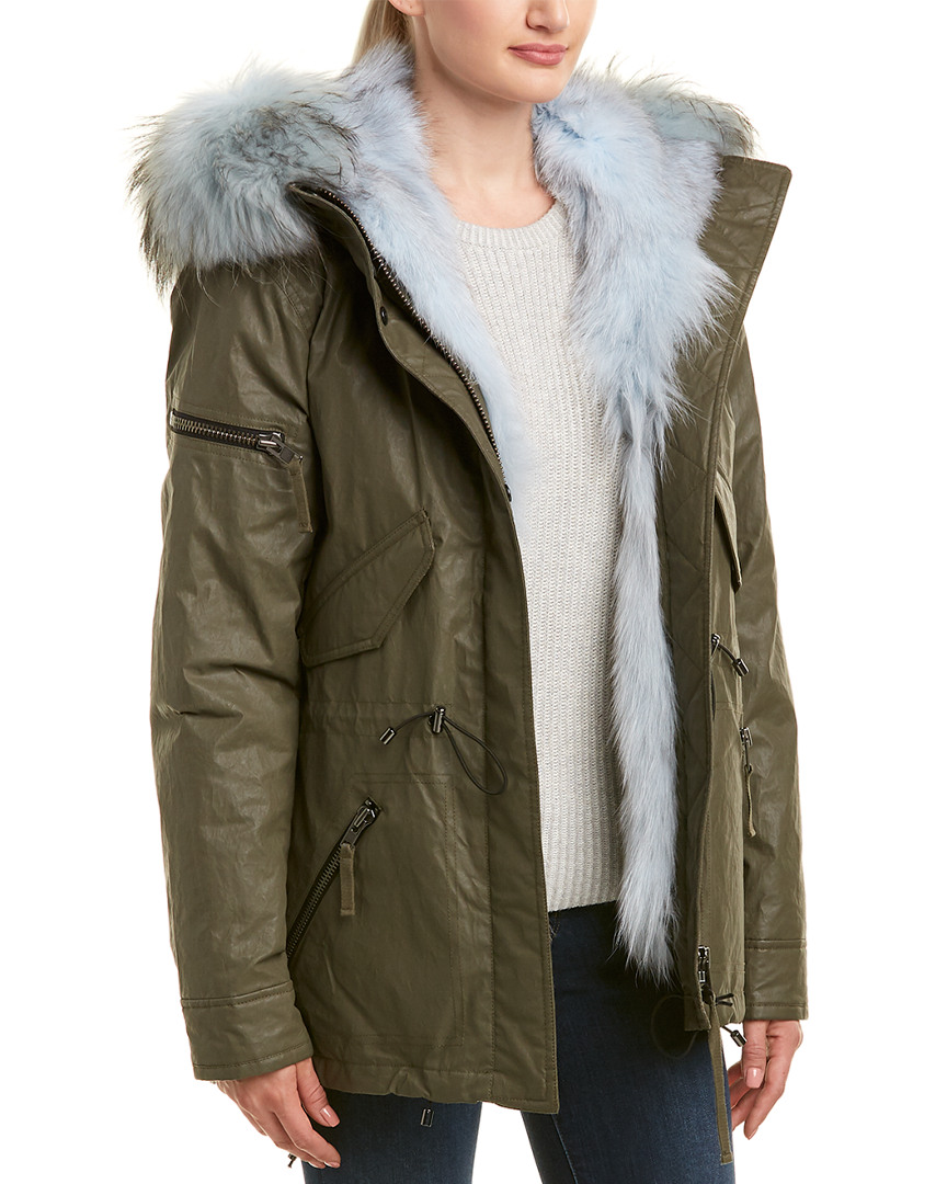 Sam MINI LUXE LIMELIGHT COAT