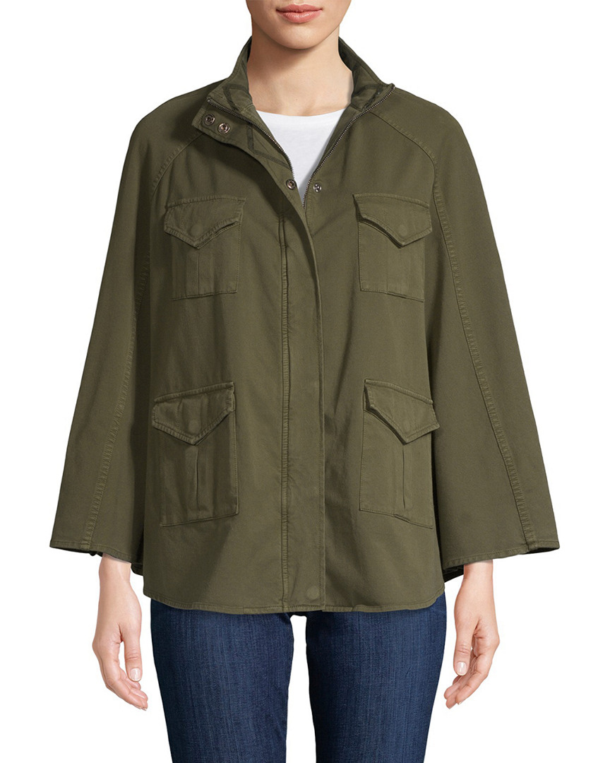 Haute Hippie DRAPED MILITARY JACKET