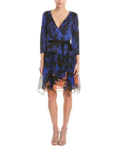 Diane von Furstenberg Riviera Silk Wrap Dress