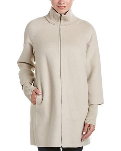 Forte Cashmere Wool & Cashmere-Blend Coat