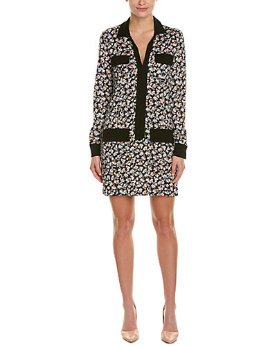 Diane von Furstenberg Dilly Silk Shirt Dress