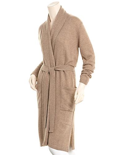 sofiacashmere Draped Cashmere Robe