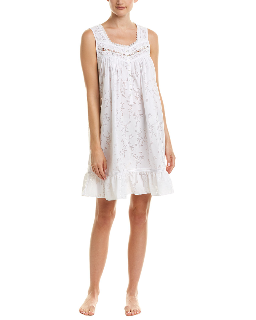 Eileen West RUFFLE SHORT NIGHTGOWN