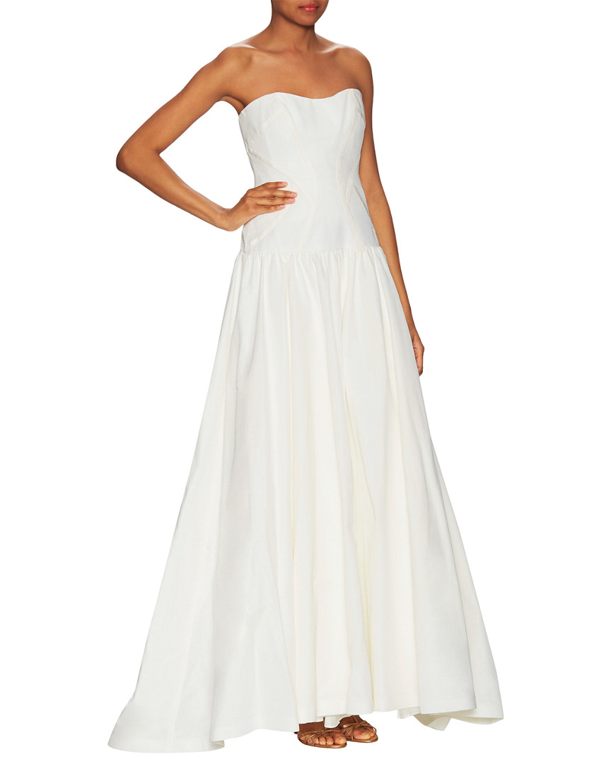 Nicole Miller LAUREL FAILLE GOWN