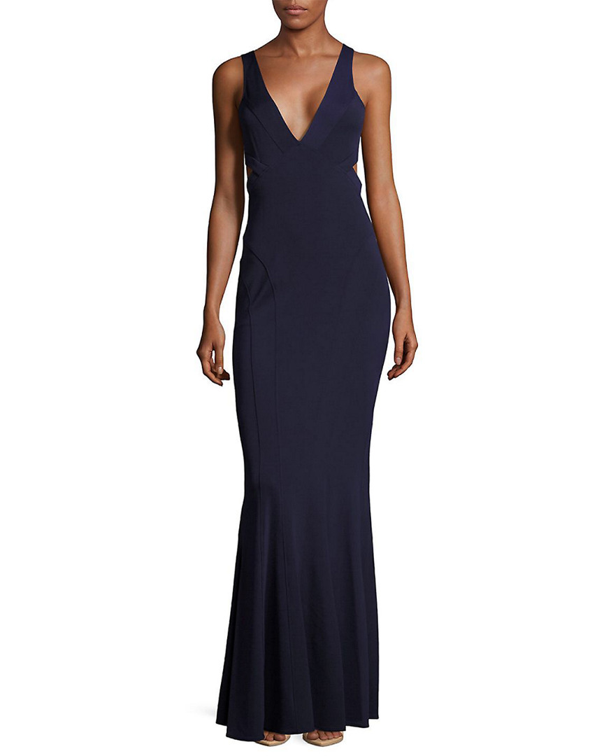 Zac Posen JAX CUTOUT MERMAID GOWN