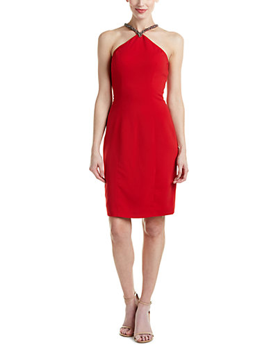 Carmen Marc Valvo Infusion Sheath Dress