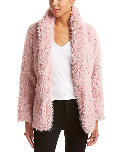 Romeo & Juliet Couture Fluffy Jacket