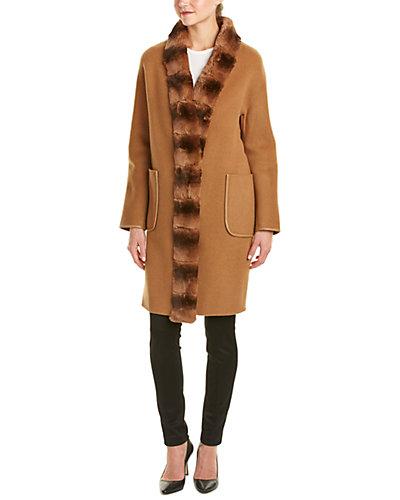 La Fiorentina Wool Coat